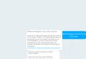 Mind map: Multi Management & Future Solutions
