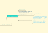 Mind map: Our user in common