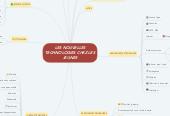 Mind map: LES NOUVELLES TECHNOLOGIES CHEZ LES JEUNES