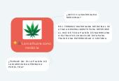 Mind map: La marihuana como medicina