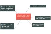 Mind map: Nif A-1 Estructura de las Normas de Información Financiera