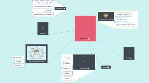 Mind Map: MARY KAY