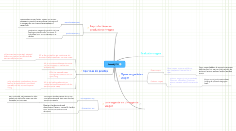 Mind Map: leerstijl 18