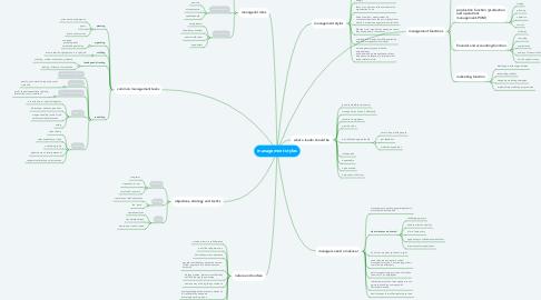 Mind Map: management styles