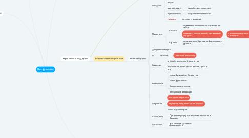 Mind Map: Путь франчайзи
