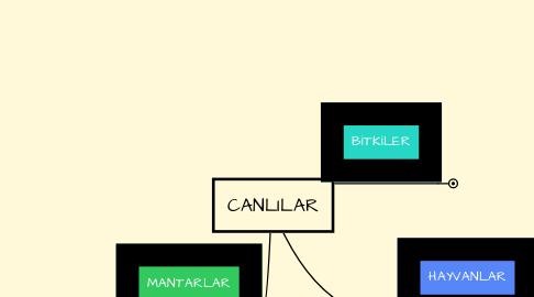 Mind Map: CANLILAR