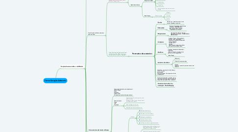 Mind Map: Curso Google Adwords