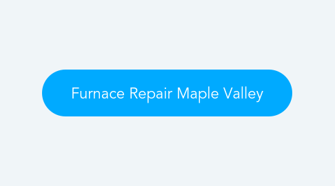 Mind Map: Furnace Repair Maple Valley
