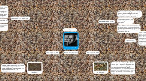 Mind Map: Jackson Pollock