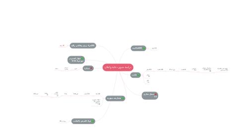 Mind Map: دراسة جدوى دعاية واعلان