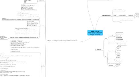 Mind Map: Atelier / EG ESSDéveloppement de projetsPotentiel numérique