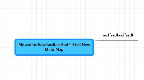 Mind Map: My asdfasdfasdfasdfasdf sdfsd fsd New Mind Map