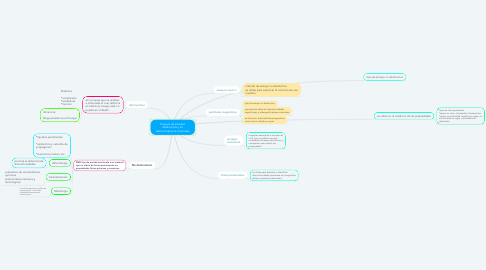 Mind Map: Ensayos de pruebas destructivas y no destructivasa los materiales