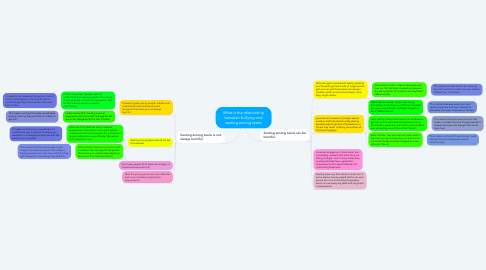 Mind Map: What is the relationship between bullying and sexting among teens