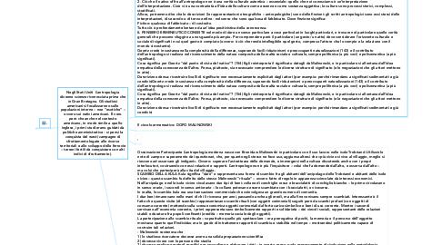 """Mind Map: Negli Stati Uniti  L'antropologia divenne scienze riconosciuta prima che in Gran Bretagna. Gli studiosi americani si focalizzarono sulle popolazioni interne – non """"esotiche"""" – ovvero sui nativi americani. È vero però che anche nel contesto americano, in modo simile a quello inglese, i primi studi erano guidati da politiche amministrative - si pensi la conquista del west (campagne di sfruttamento legate alle risorse territoriali e allo sviluppo delle ferrovie – terreni fertili da conquistare con alti indici di sfruttamento)."""