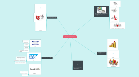 Mind Map: Paquetes Administrativos