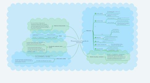 Mind Map: Características Físicas De Un Aeropuerto