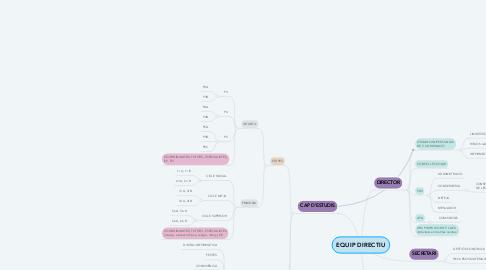 Mind Map: EQUIP DIRECTIU