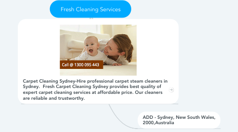Mind Map: Fresh Cleaning Services