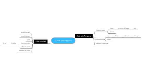 Mind Map: CAPA Mchangama