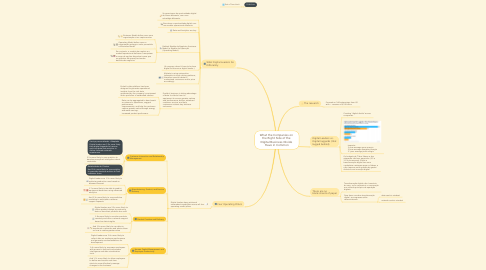 Mind Map: What the Companies on  the Right Side of the  Digital Business Divide  Have in Common
