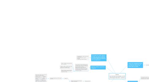 Mind Map: Poder- autoridad-trascendencia del liderazgo basado en valores