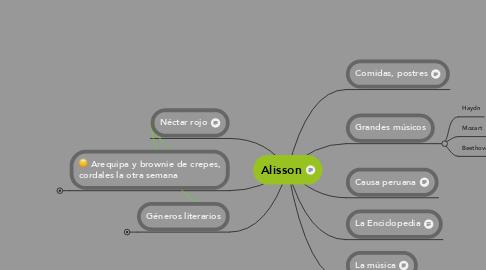 Mind Map: El Neoclasicismo