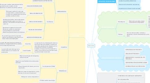 Mind Map: Decisiones
