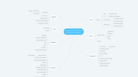 Mind Map: Pourquoi professionnaliser les formateurs internes ?