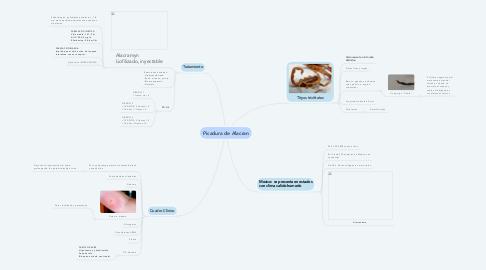 Mind Map: Picadura de Alacran