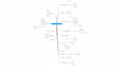 Mind Map: Business Brainstorming Template