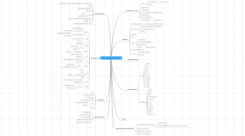 """Mind Map: Does a community need a """"Place""""?"""