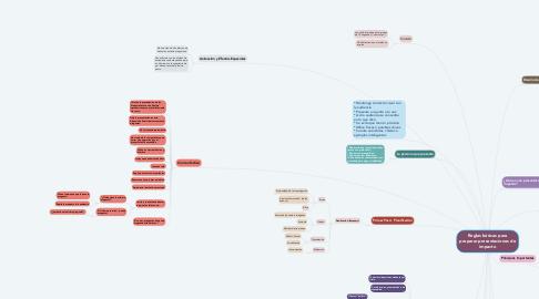 Mind Map: Reglas básicas para preparar presentaciones de impacto