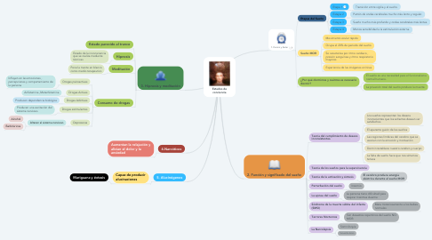 Mind Map: Estados de conciencia