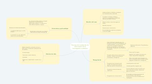 Mind Map: Técnicas de recolección de información de la investigación cualitativa