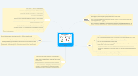Mind Map: ACTORES DEL PROCESO ECCL