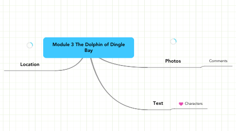 Mind Map: Module 3 The Dolphin of Dingle Bay