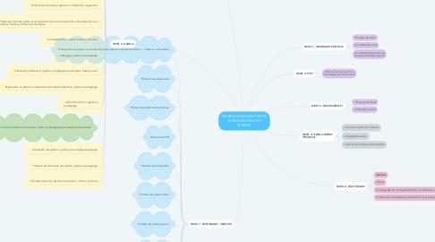 Mind Map: OCUPACIONES DENTRO DE LA EDUCACIÓN POR NIVELES