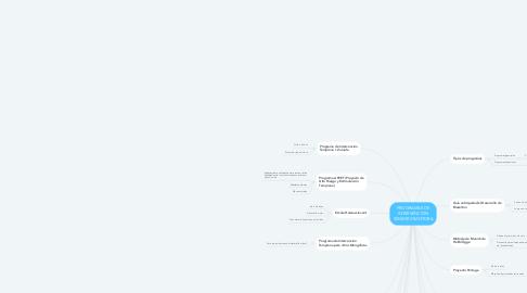 Mind Map: PROGRAMAS DE INTERVENCIÓN SENSORIOMOTORA