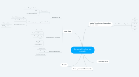 Mind Map: Economic Development Imperative