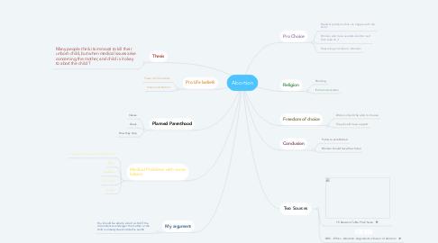 Mind Map: Abortion