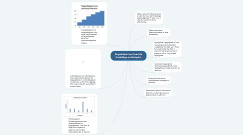 Mind Map: Begrebskort om hvad de forskellige ord betyder.