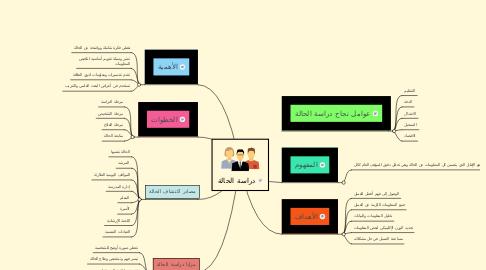 Mind Map: دراسة الحالة