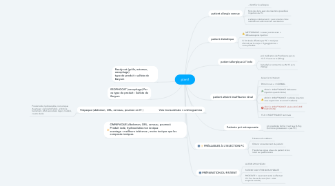 Mind Map: planif