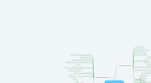 Mind Map: Typologie des stockages