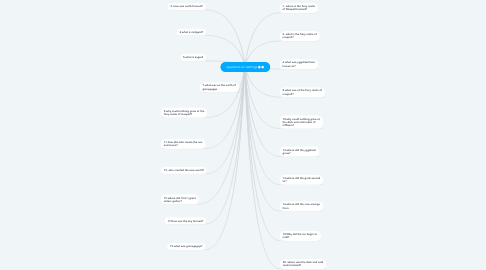 Mind Map: questions on settings