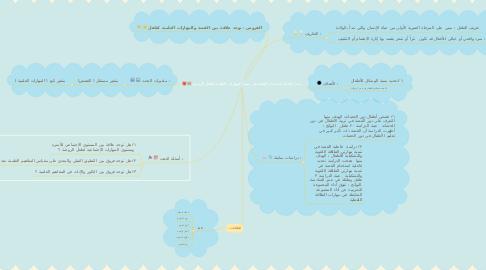 Mind Map: مدى فاعلية استخدام القصة في تنمية المهارات العلمية لطفل الروضة