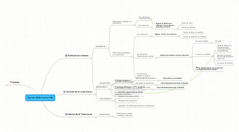 Mind Map: Decreto Edificaciones SNU