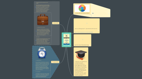 Mind Map: QUE ES UN MANAGEMENT