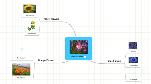 Mind Map: The Garden